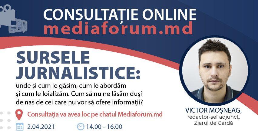 Victor Moșneag consultatie online cum ne facem surse