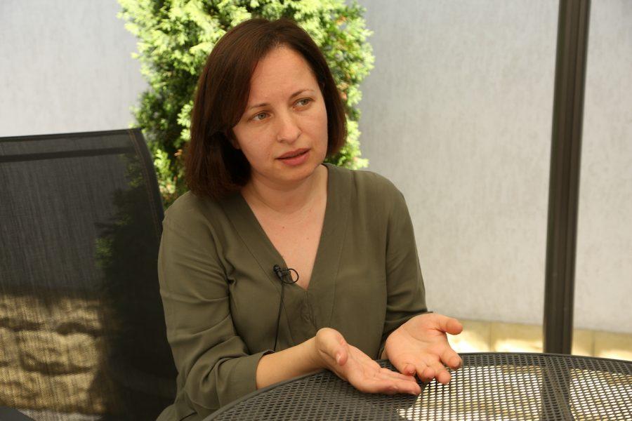 Elena Cioina, coordonatoare media, Platforma e-sanatate md foto Media Guard