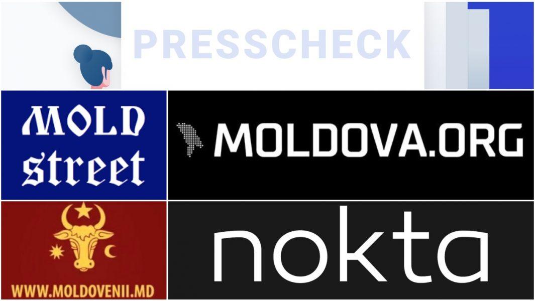 Mold-street, Nokta, Moldova.org, Moldovenii md colaj presscheck md